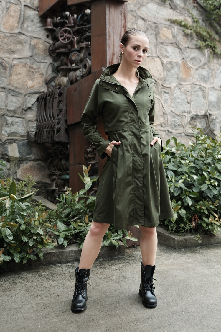 WFY751917秋冬女士风衣